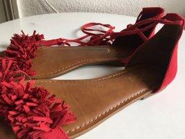 Sandalo romano rosso
