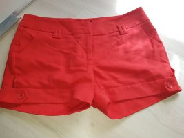 rote Sommershorts