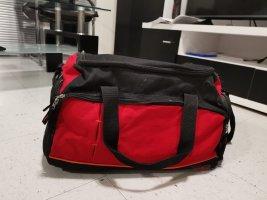 Bolsa de gimnasio negro-rojo