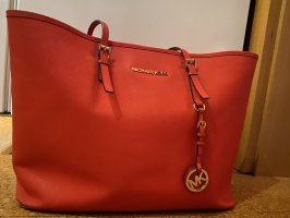 Roter Michael Kors Shopper