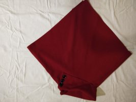 Roter Wollponcho