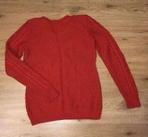 H&M Wool Sweater red cotton
