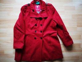 Zabaione Short Coat red wool