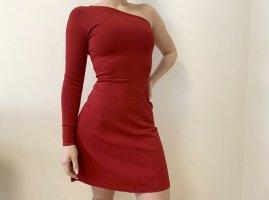 Morgan Vestido de noche rojo-rojo oscuro