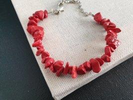 Bracelet rouge-rouge clair