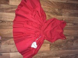 LOU Balloon Dress red