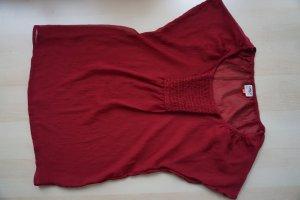 rotes weich fallendes T-Shirt von ONLY