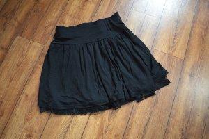 Skaterska spódnica czarny