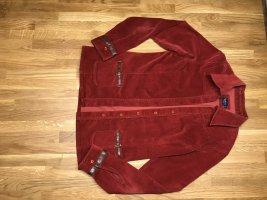 Rotwein Cotton Veloursjacke