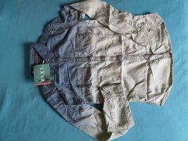 Roxy Ombre Jean Surfer Hemd Summer Shirt XS