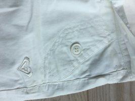 Roxy Pantalon capri blanc
