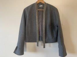 Brunello Cucinelli Blazer in lana grigio-grigio scuro Lana