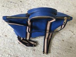 Borse in Pelle Italy Zaino laptop blu Pelle
