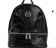 Philipp Plein Zaino laptop nero