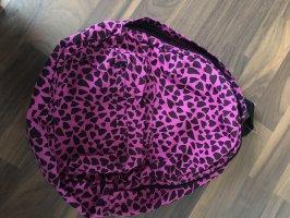 Rucksack pink mit Herzen