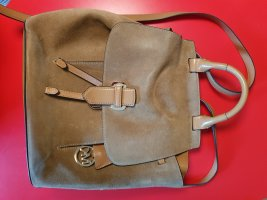 Michael Kors Carrito de mochila marrón claro