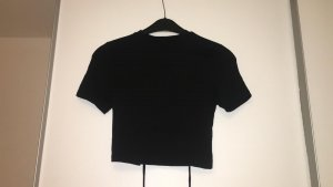 H&M Divided T-shirt court noir