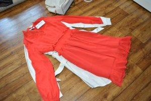 Nakd Longsleeve Dress red