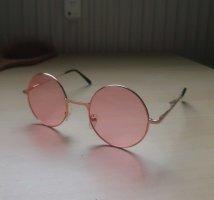 Rund Pastel Pink Sonnenbrille von dogdog store