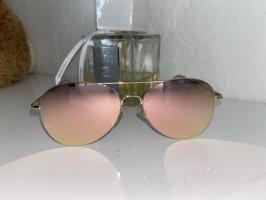 Occhiale da pilota oro-color oro rosa