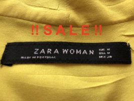 !!  S A L E  !! Sehr schöne Bluse - Zara Woman - senffarben - viscose - weich fließend