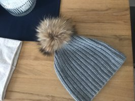 S.Marlon Fur Hat grey