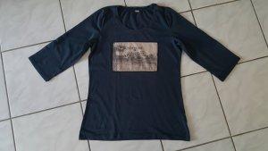 "s.Oliver 3/4 Arm T-Shirt "" dunkelblau "" Gr. 42 "" wieNEU !!!"
