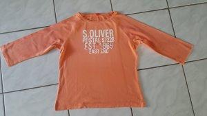 "s.Oliver 3/4 Arm T-Shirt "" orange "" Gr. 42 "" neuwertig !!!"