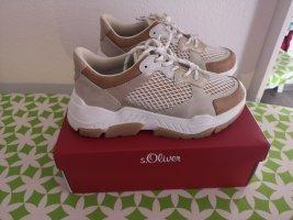 s. Oliver (QS designed) High top sneaker goud