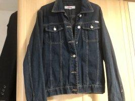 s.Oliver Veste en jean bleu foncé coton