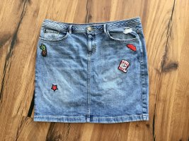 S.Oliver Jeansrock mit Patches