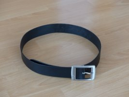 s.Oliver Leather Belt black leather