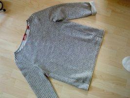 s.Oliver Ringel-Sweatshirt graublau 38