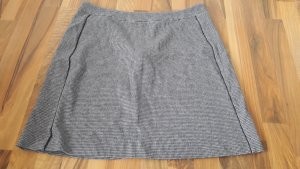 Q&S by S.Oliver Wool Skirt black-grey