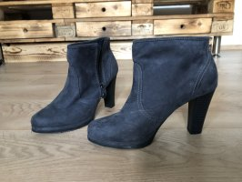 s.Oliver Zipper Booties anthracite