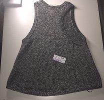 H&M Camicia maglia argento-nero