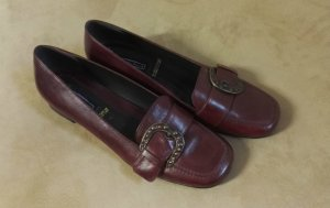 Oxfords dark red