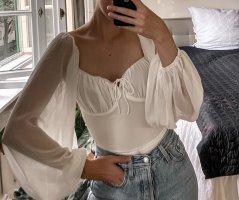 Sabo Skirt Basic Bodysuit white