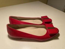 Slingback Ballerinas red