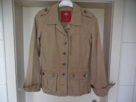 edc by Esprit Safari Jacket sand brown-camel cotton