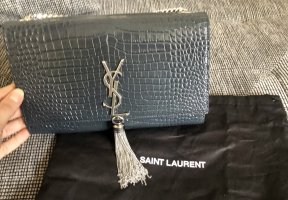 Saint Laurent Medium Kate in Dark Smog Neu mit Etikett