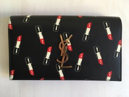 SAINT LAURENT Monogram Lipstick Clutch NEU