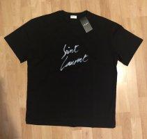 Saint Laurent Oversized shirt zwart