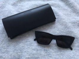 Saint Laurent Angular Shaped Sunglasses black