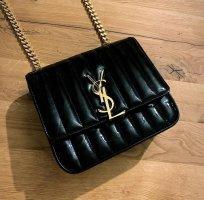 Saint Laurent Vicky chain bag medium patent nior