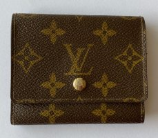 Louis Vuitton Custodie portacarte marrone scuro-oro