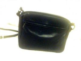 sale: Echtleder kleine Crossbodybag, 80's, m vielen Reißv.taschen