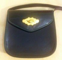 Tradycyjna torebka czarny-złoto