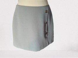 Reserved Asymmetry Skirt slate-gray