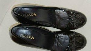 %Sale%Prada Schuhe, Luxus, Orig., Leder, Gr. 38,5